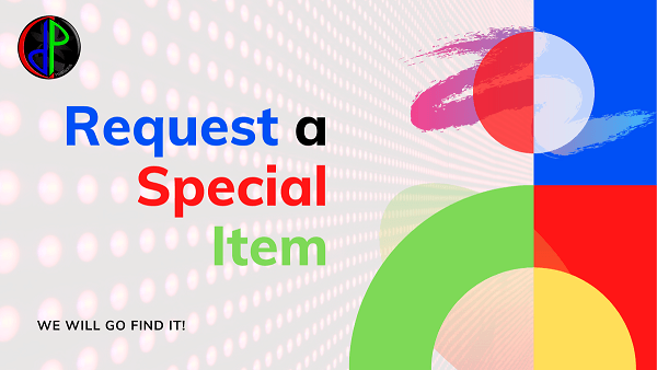 request a special item